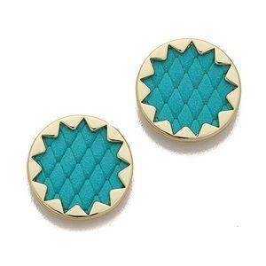 House of Harlow Sunburst Earrings in Turquoise